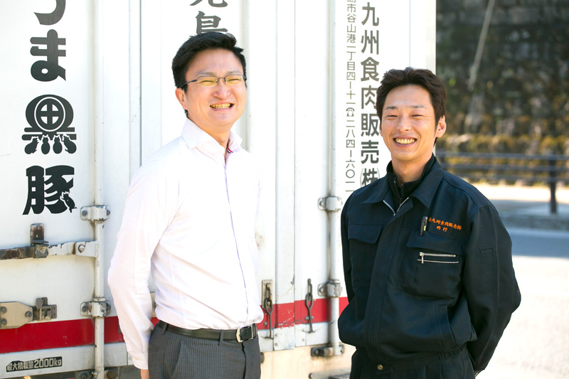 鹿児島ミートグループ・南九州食肉販売 修行 兼悟さま